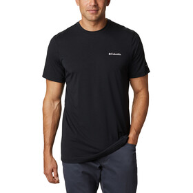 Columbia Maxtrail SS Logo Tee Men, black/white